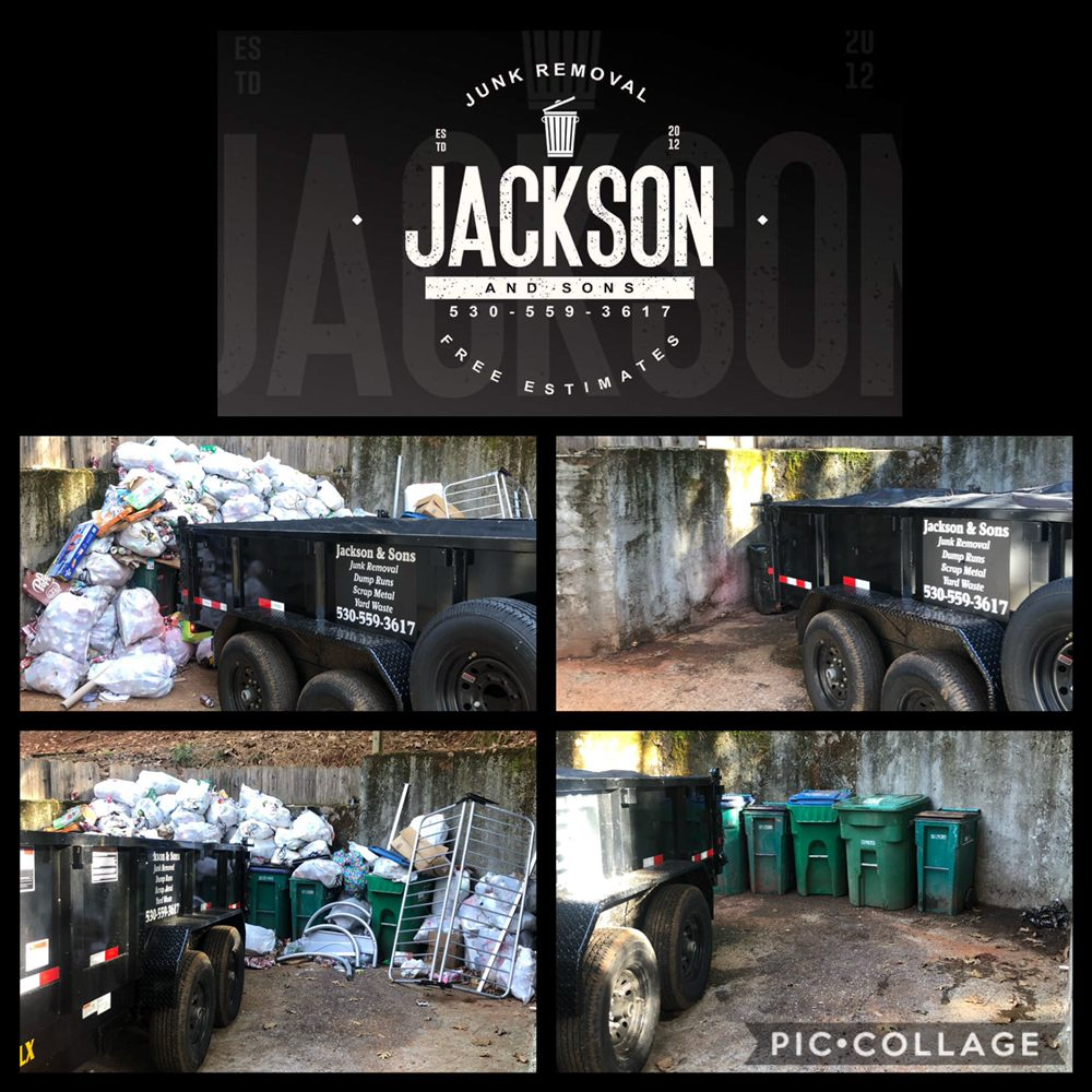 Jackson & Sons Junk Removal: Grass Valley, CA