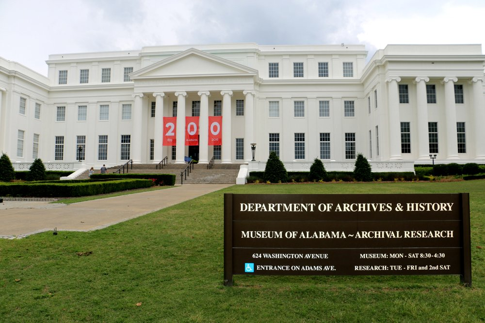 State of Alabama Archives & History