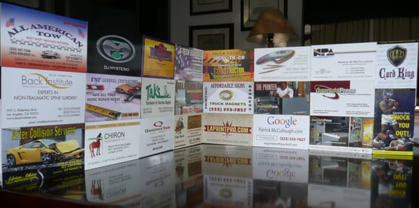 Overnight press printing services 4123 exposition blvd west photo of overnight press los angeles ca united states business card king reheart Images