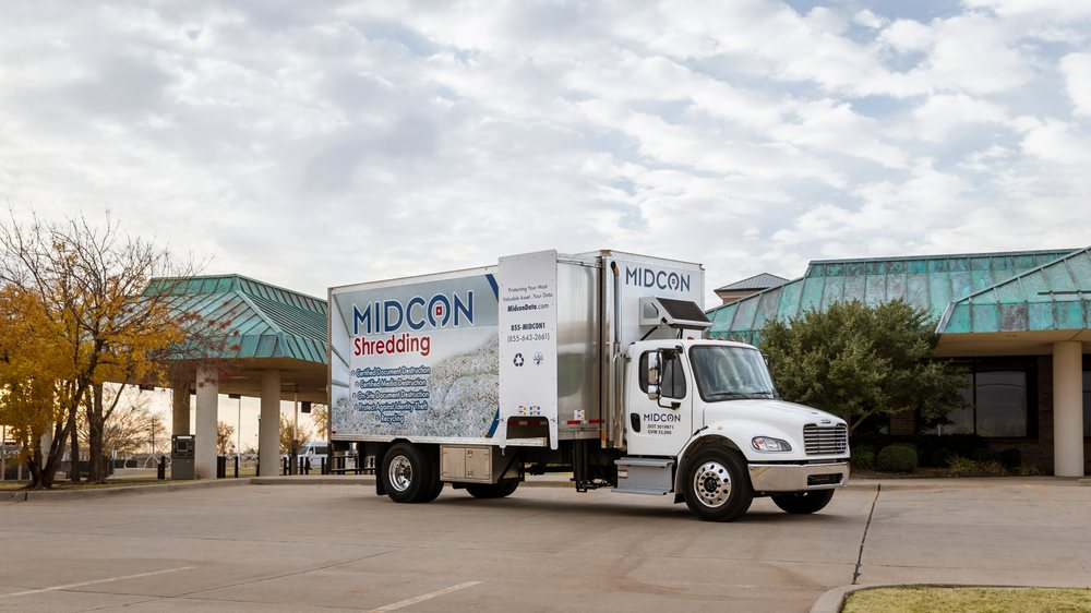 MIDCON Shredding: 401 W 33rd St, Edmond, OK