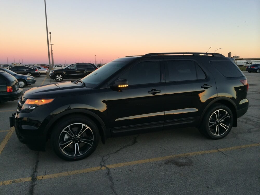 2015 Explorer Matched The Front Windows To The Factory