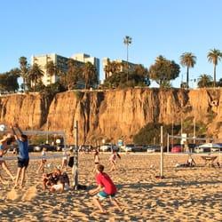 Photo Of Santa Monica Beach Volleyball Club Ca United States