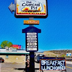 Photo Of The Charcoal Pit Restaurant Motel Mayer Az United States