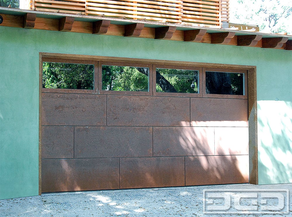 Photo Of Dynamic Garage Door   Santa Ana, CA, United States. Corten Steel