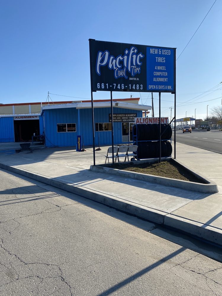 Pacific Coast Tire: 336 E Lerdo Hwy, Shafter, CA