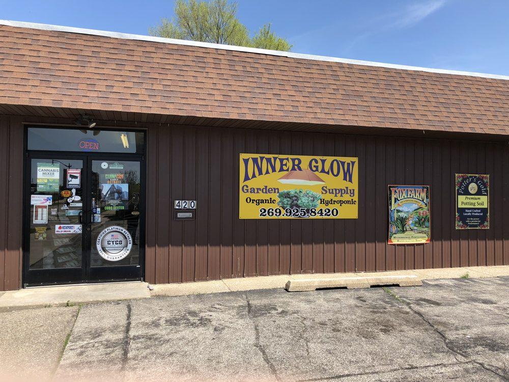 Inner Glow Garden Supply: 420 E Main St, Benton Harbor, MI