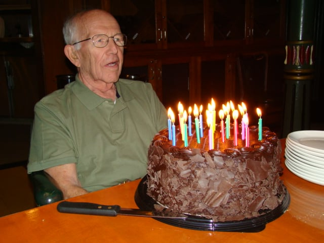 Costco Auto Services >> 7 lbs of Costco Chocolate Cake holding up those candles ...