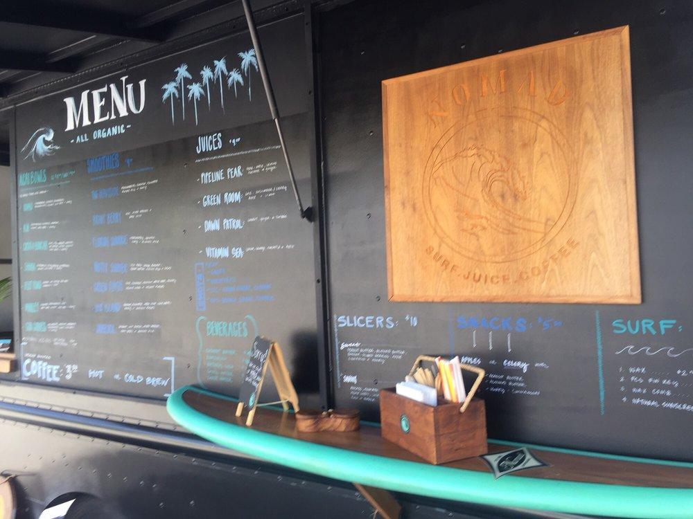 Nomad - Surf. Juice. Coffee: 4655 N Ocean Blvd, Boynton Beach, FL