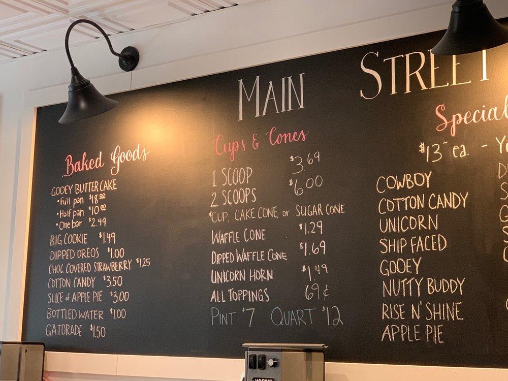 Main Street Creamery: 2478 Taylor Rd, Wildwood, MO