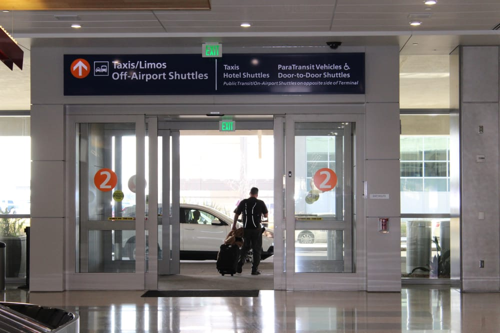 Photo of Sacramento Airport Car Service - Sacramento CA United States. Sacramento Airport & Sacramento Airport Terminal B Arrival . Door Number 2 Exit To Town ...
