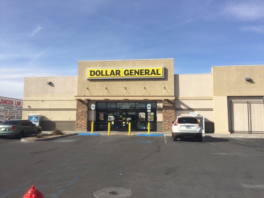 Dollar General: 3325 N Las Vegas Blvd, Las Vegas, NV