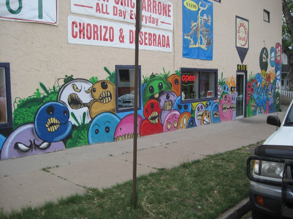 Burrito Giant - Denver, CO, United States. Burrito Giant - Mural (Spring 2012-Fall 2014)