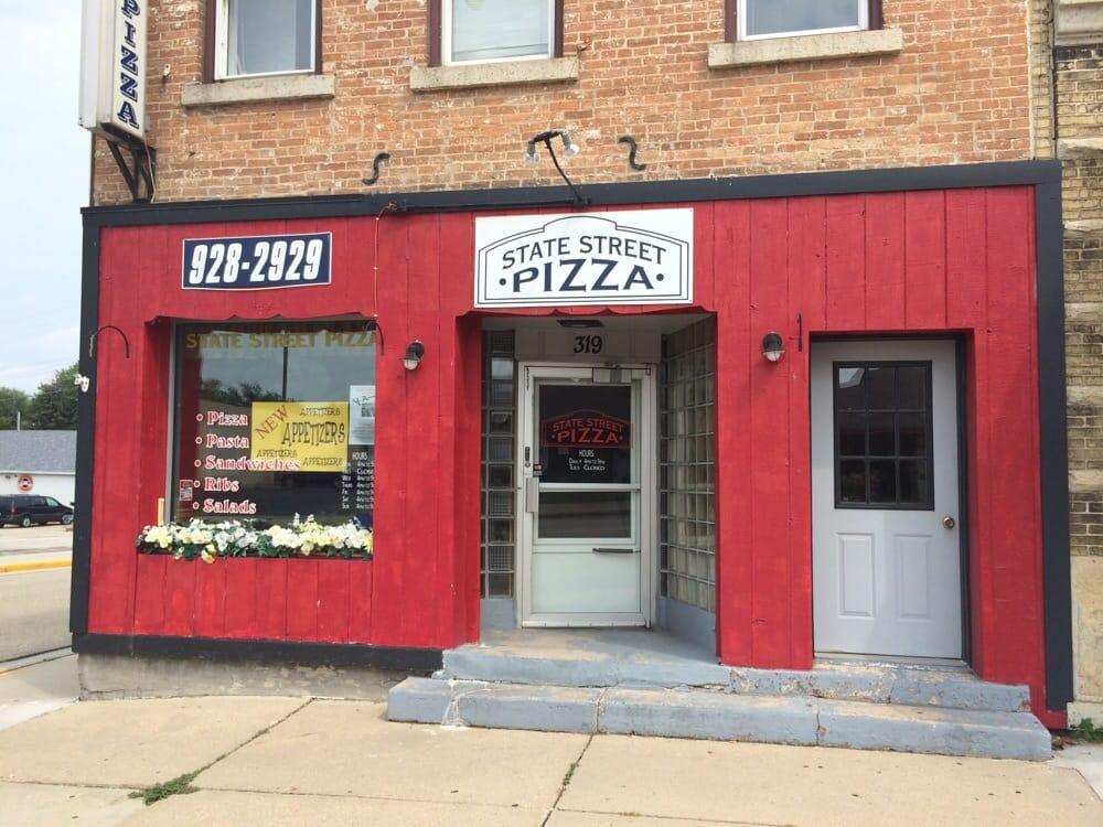 State Street Pizza: 319 W State St, Fox Lake, WI