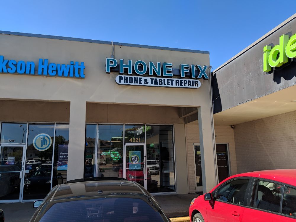 Phone-Fix.com Gadget Repair Dallas Lemmon Ave