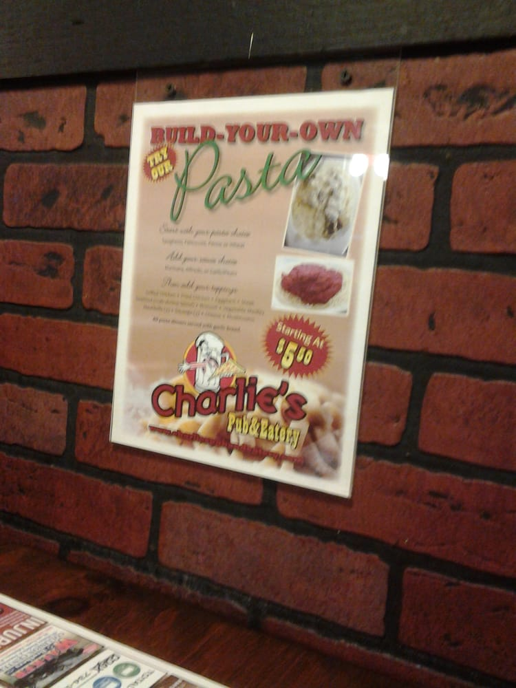 Food from Charlie's Pub & Eatery