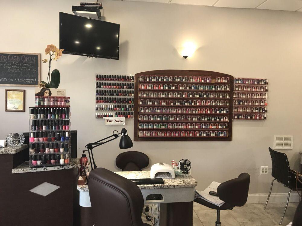 Nail polish choices for gel and regular - Yelp