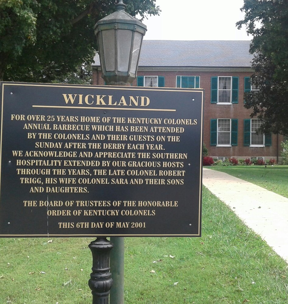 Wickland Plantation Home: 550 Bloomfield Rd, Bardstown, KY