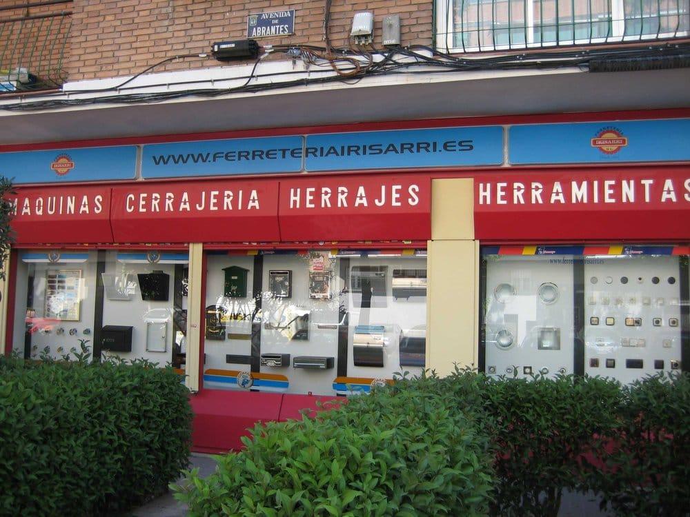 Irisarri ferreter as avenida de abrantes 87 for Ferreteria cerca de mi ubicacion
