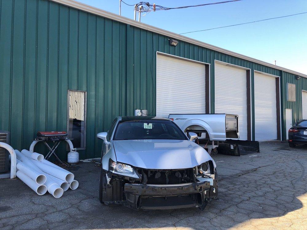 Top Notch Collision: 48 Industrial Park Cir, Lawrenceville, GA