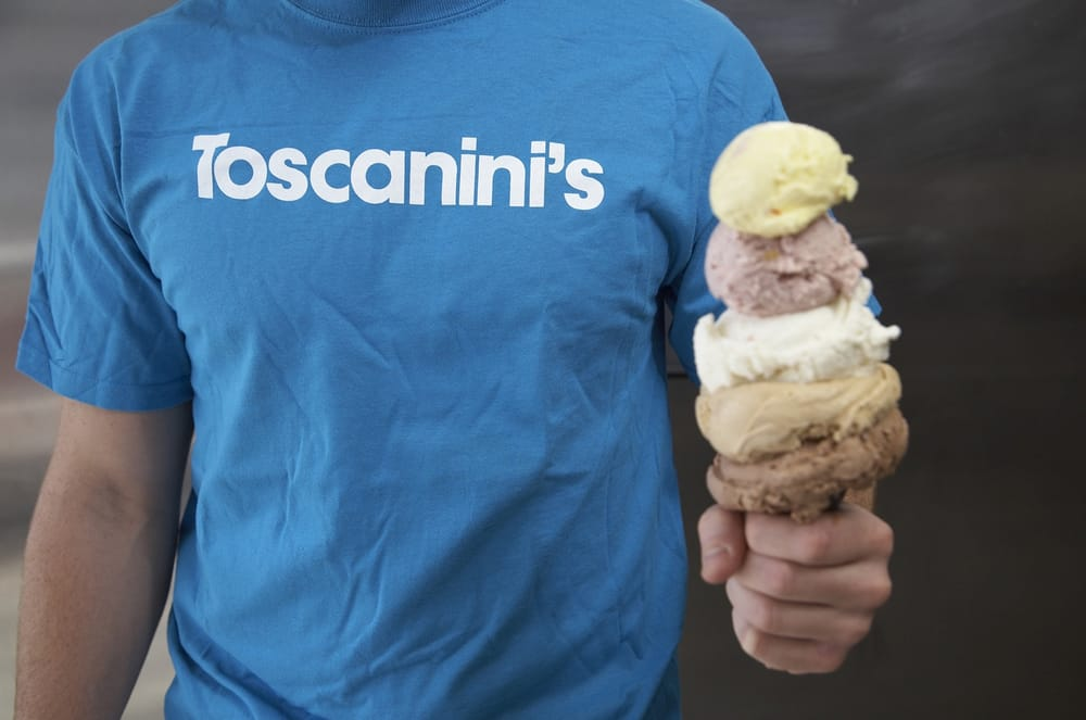 Social Spots from Toscanini's Ice Cream