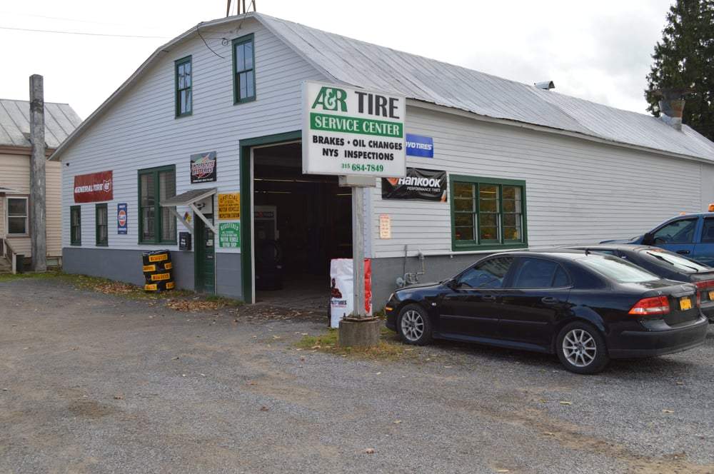 A & R Tire Service Center: 33 W Main St, Morrisville, NY