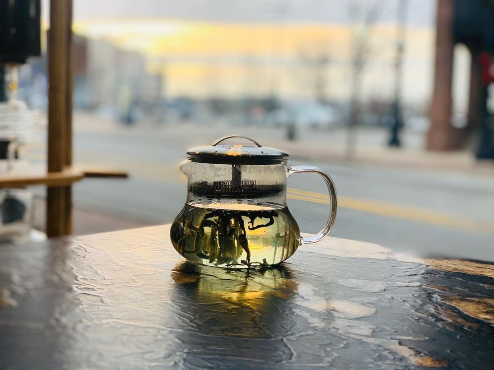 The River Coffee: 101 N Main St, Decatur, IL