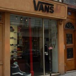 vans boutique a paris