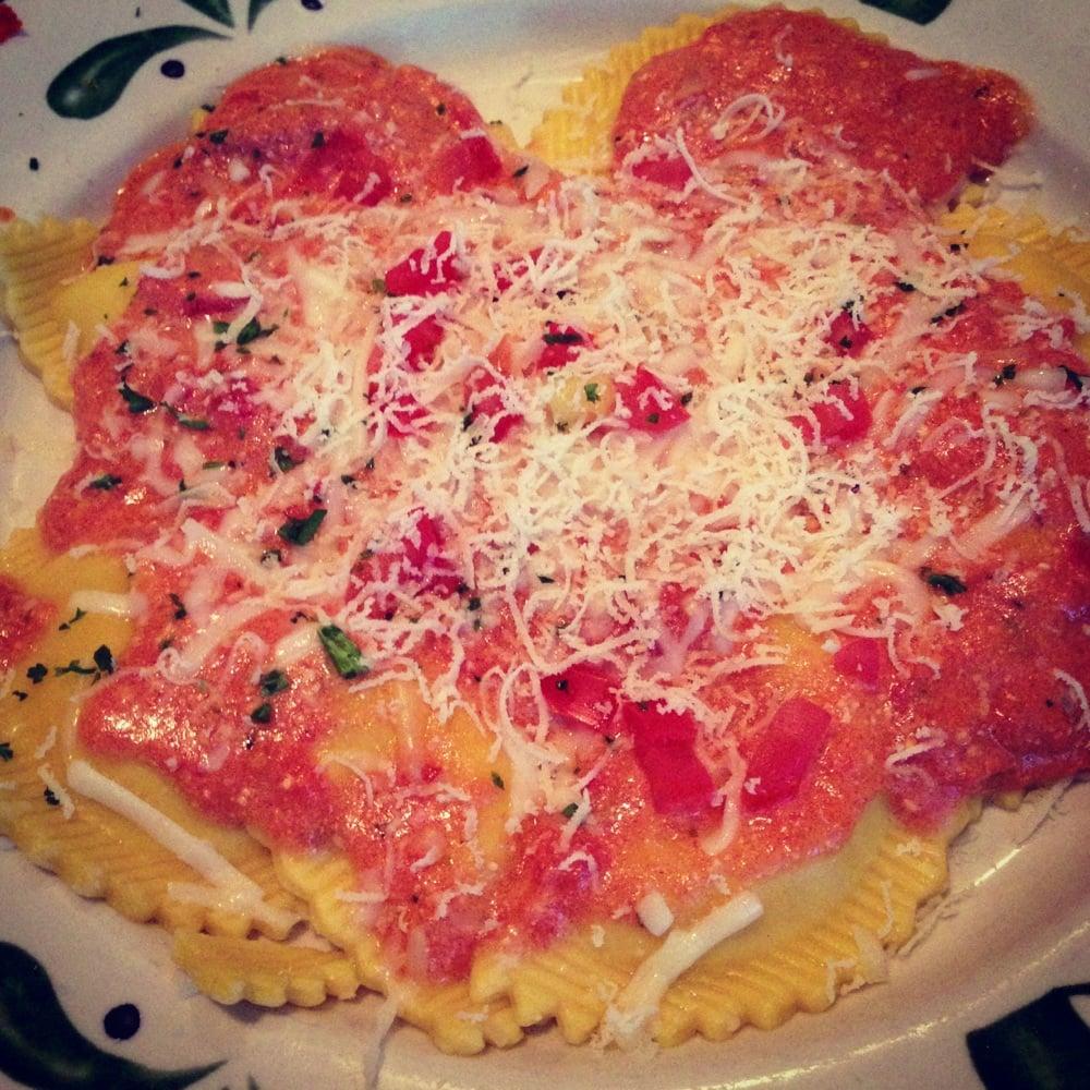 Mesa CA United States Mezzaluna Ravioli With Five Cheese Marinara