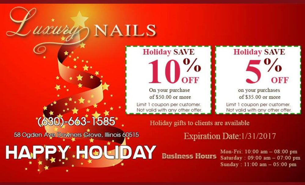 Luxury Nails - 24 Photos & 68 Reviews - Nail Salons - 58 Ogden Ave ...