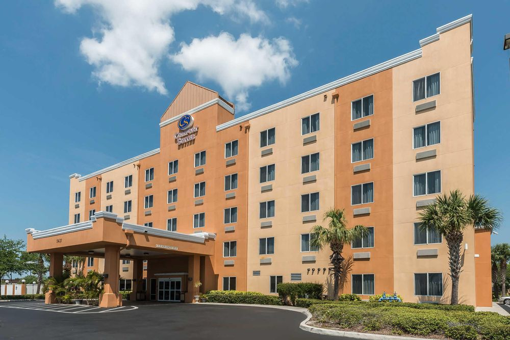 Comfort Suites Tampa Airport North: 5421 West Waters Ave, Tampa, FL