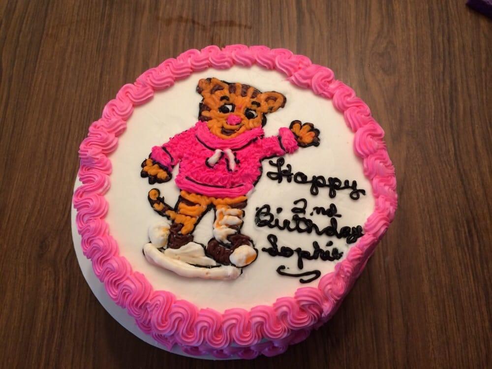 Daniel Tiger Birthday Cake Yelp