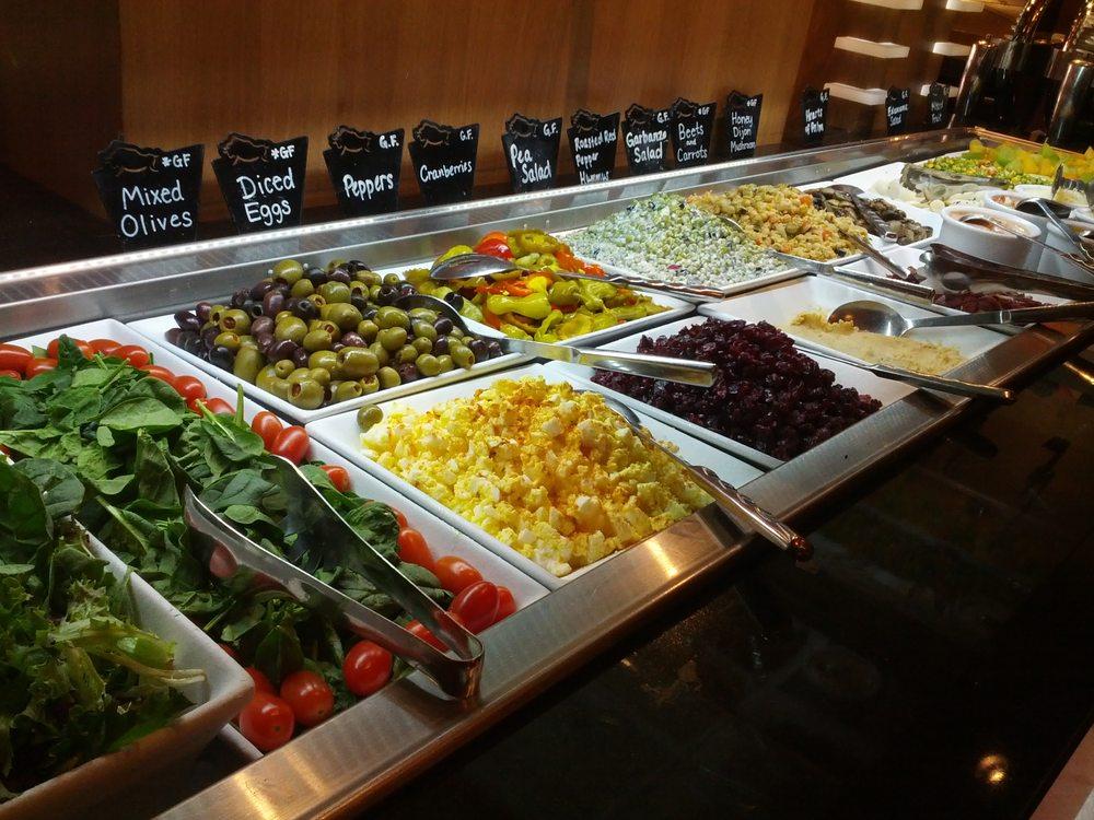 Awesome salad bar options! - Yelp