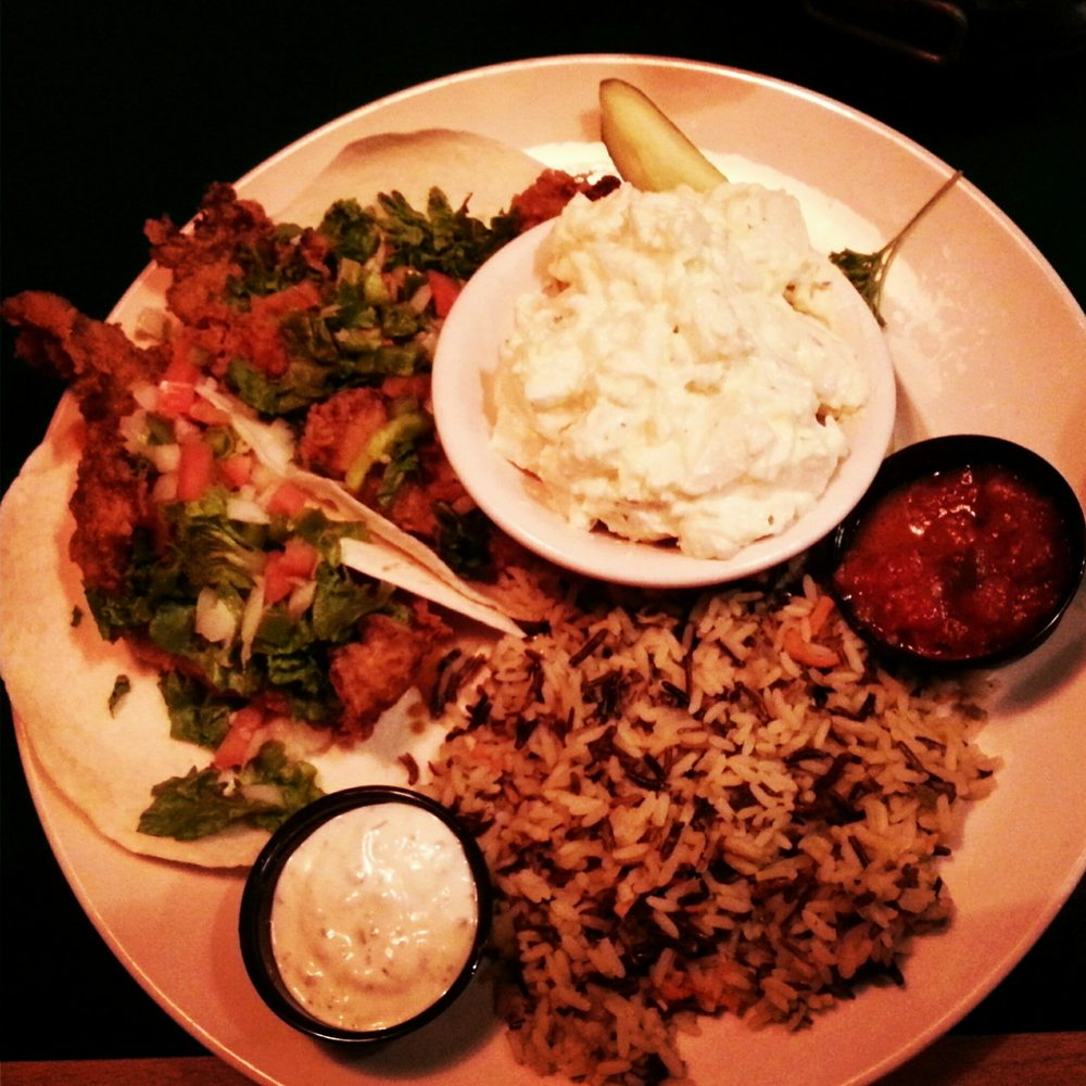 Food from Duke's Bar & Grill