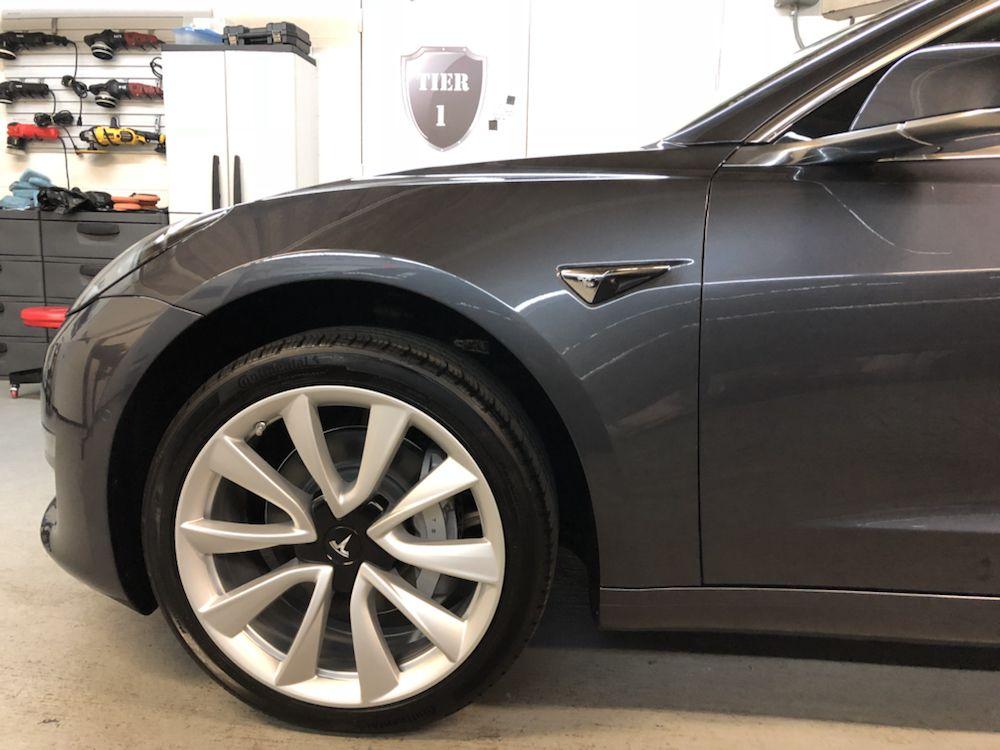 Tesla Model 3 Xpel paint film with Ceramic Pro coating - Yelp
