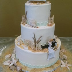 Photo Of Judy S Cakes Jacksonville Fl United States Wedding At The Beach
