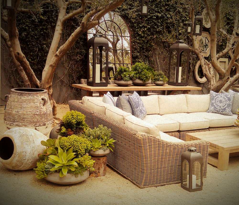 Planter Designs Available At Restoration Hardware In San