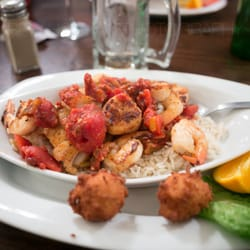 Photo Of Tony S Seafood Restaurant Cedar Key Fl United States Cajun