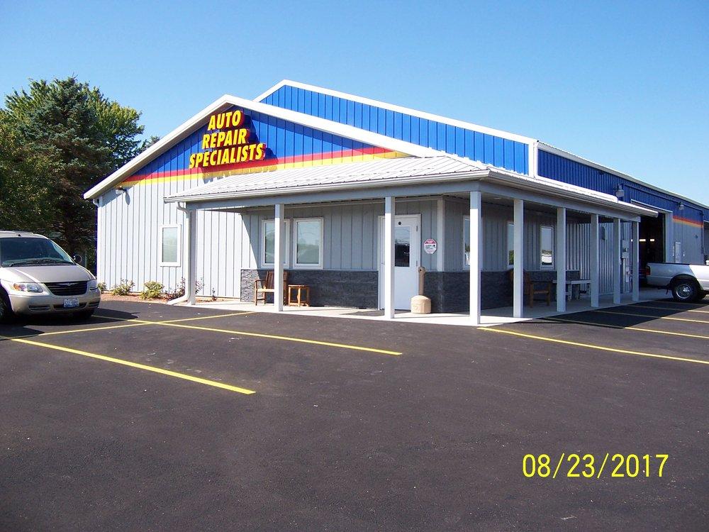 Auto Repair Specialists: 3358 Il Route 26 S, Freeport, IL