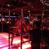 Brass rail strip club