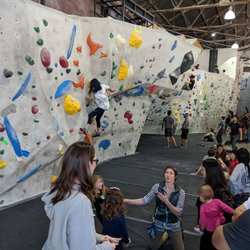 P O Of The Stronghold Climbing Gym Los Angeles Ca United States Front