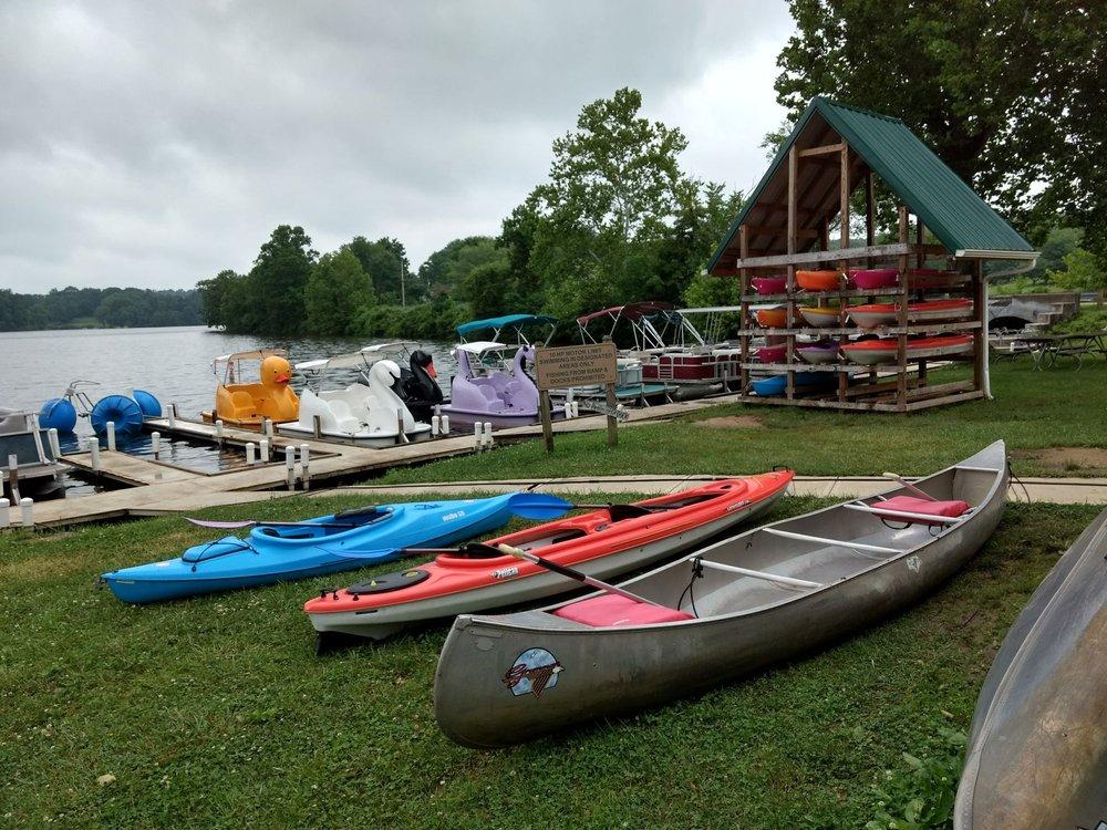 Lake Logan Boat Rental