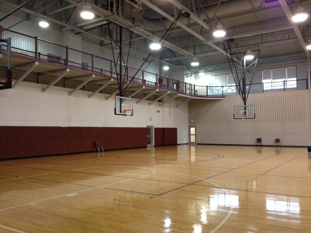 Indoor Basketball Courts Multiple Goals 1st Floor