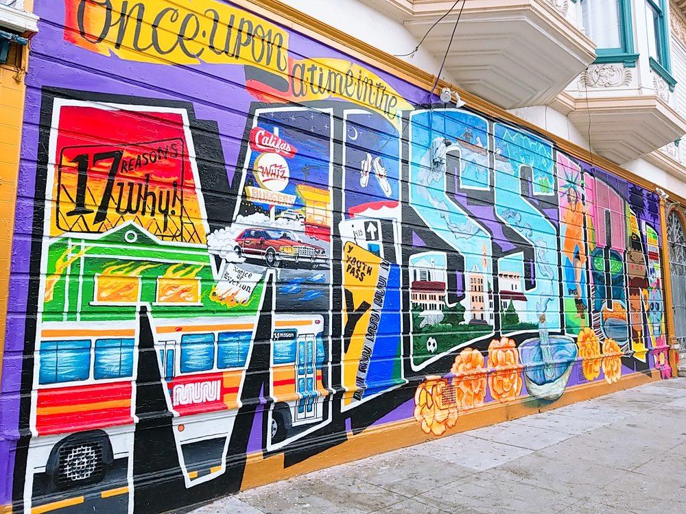 Balmy Street Murals: 1-100 Balmy St, San Francisco, CA