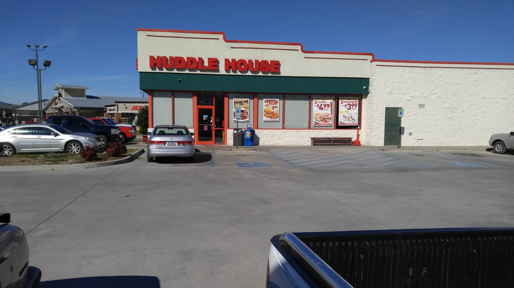 Huddle House: 14 Bushrod Johnson Ave, Chickamauga, GA