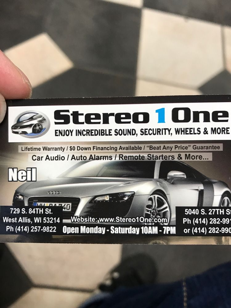 Stereo 1one