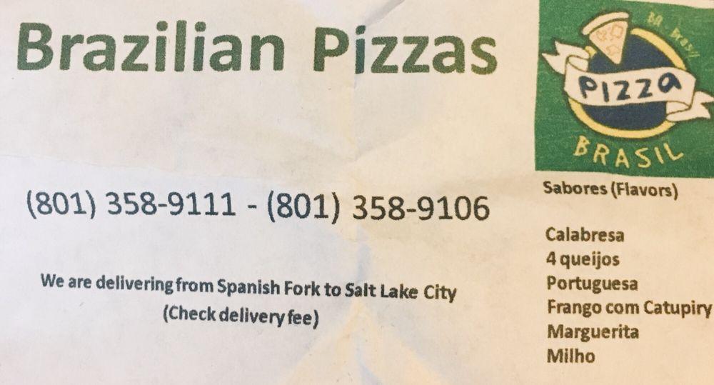 Brazilian Pizzas: Spanish Fork, UT