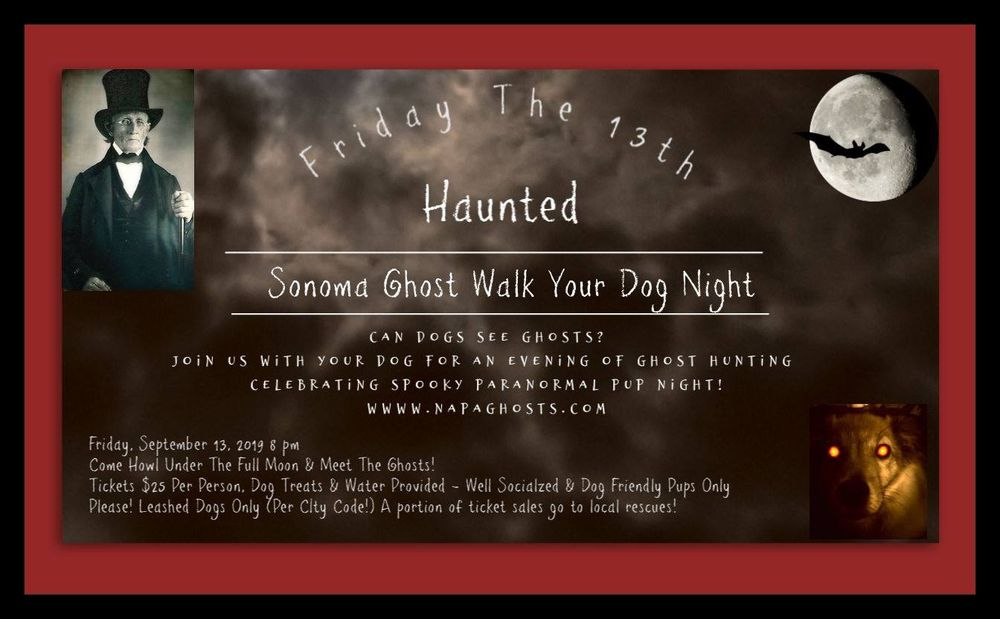 Napa City Ghosts & Legends Walking Tour: Napa, CA