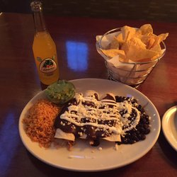 Photo Of Mez Contemporary Mexican Durham Nc United States Enchiladas De Pollo