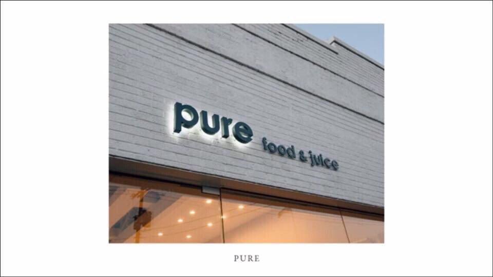 Pure Food And Juice Tulsa Menu