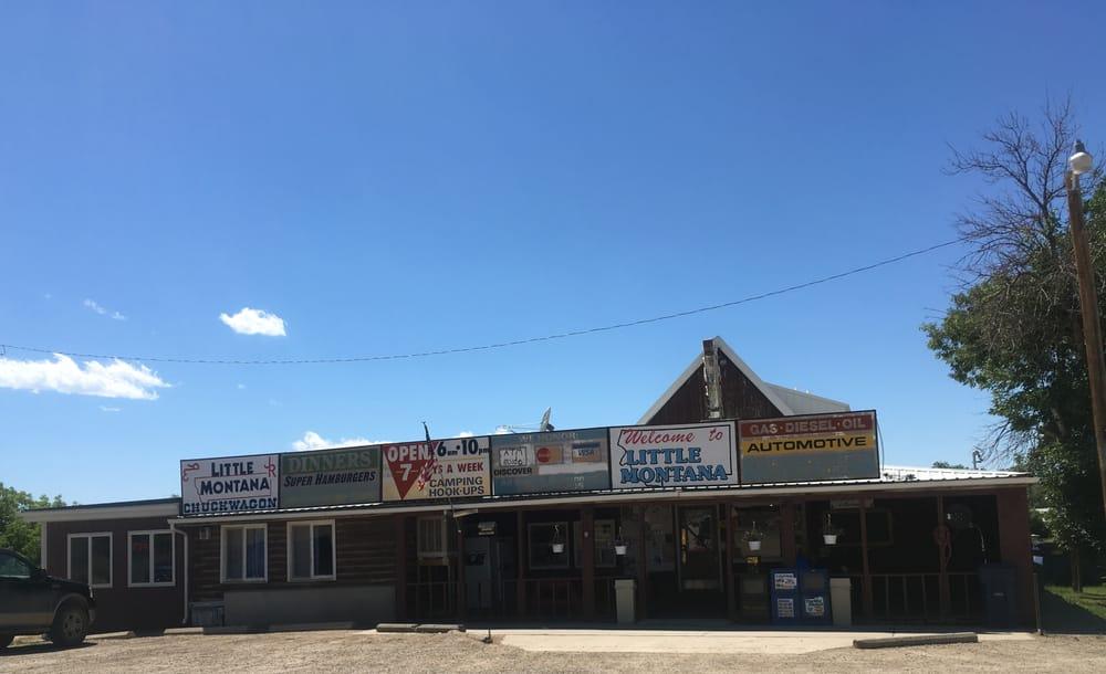 Little Montana Truck Stop: US Highway 87 S, Grass Range, MT